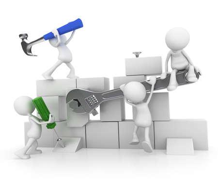 brick work: Teamwork