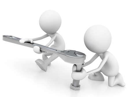screw key: Teamwork