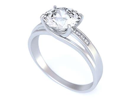 anillo de compromiso: Anillo de boda