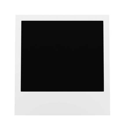 polaroid frame: Polaroid blank Frame Stock Photo