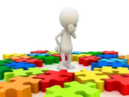 puzzle jigsaw:  I am stuck