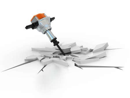 presslufthammer: im Bau