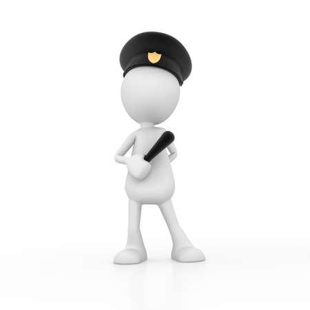 police man: Policeman Stock Photo
