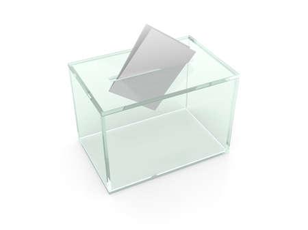 ballot: Your voice counts Stock Photo
