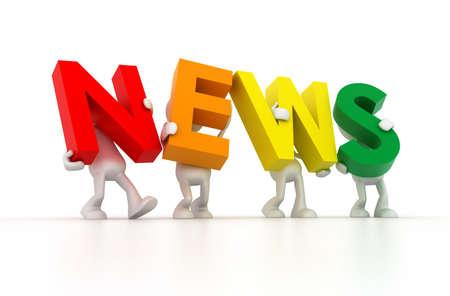 News word photo