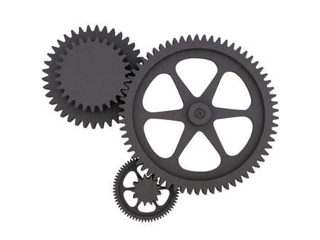 buckler: gearbox Stock Photo