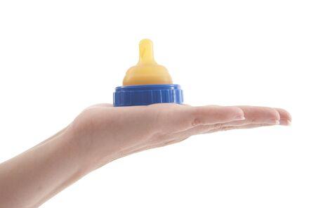 nursing bottle: Baby bottle nipple