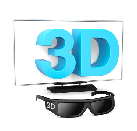 3D Television Stock Photo - 15648067