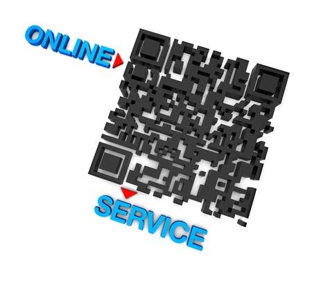 QR code online Service Stock Photo - 15648116