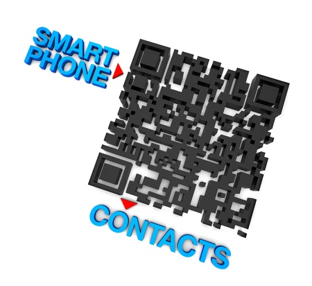 qrcode: QRcode Smart Phone Online connect Contacts Business