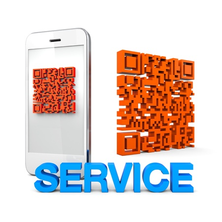 qrcode: QRcode Mobile Phone Online connect Service Business