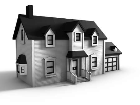 3d House Stock Photo - 8138868