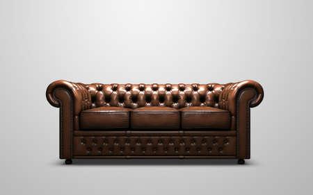 divano: Chesterfield Sofa antica