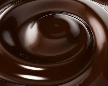 Chocolate Swirl Background Stock Photo - 9317535