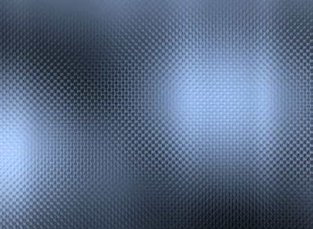Blue metallic pattern