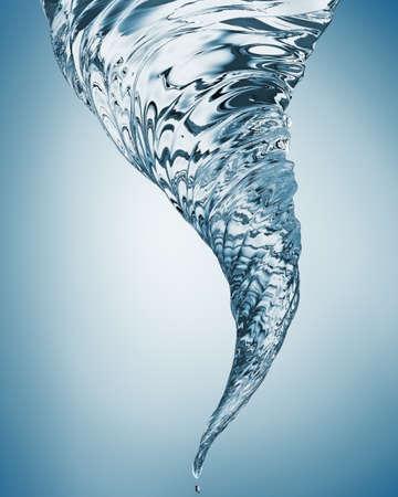 Remolino de agua abstracta Foto de archivo - 70206922