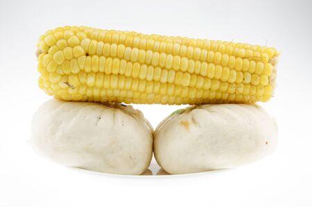 bun: corn and steamed bun