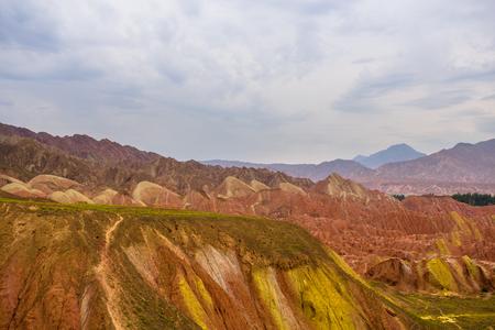 physical geography: Zhangye danxia scenic