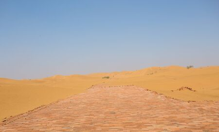 loess: desert Stock Photo