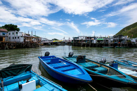 fishing village: Tai O Fishing Village Editorial