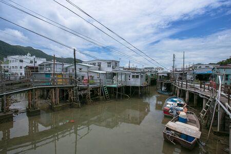fishing village: Hongkong fishing village