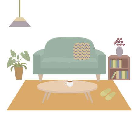 Living room Ilustração