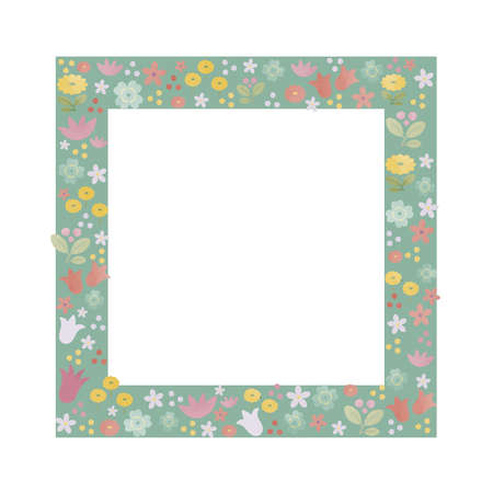 Wildflower frame