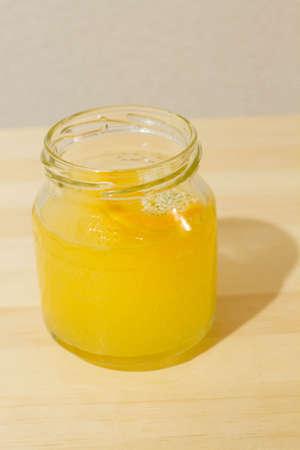 オレンジ ソーダ 写真素材