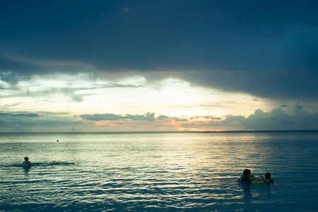 Guam beach landscape. Stock Photo