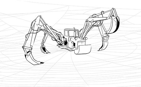 Tractor-spider or metaphorical character of increase of the productivity