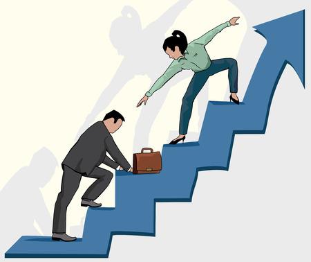 성공적인 사람은 항상 그 사람에 의해 다음과 같은 것을 돕는다.