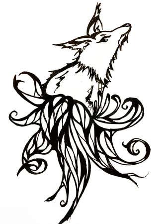 foxy: Foxy Stock Photo