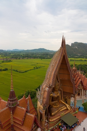 Tiger Cave Temple in Kanchanaburi province of  thailand photo