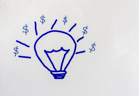 more money: Great ideas to make more money  Stock Photo