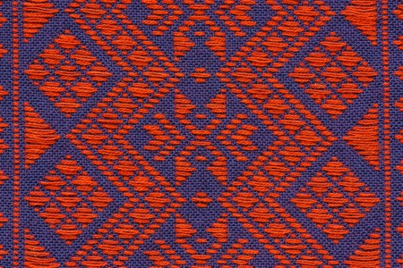 Hand woven traditional Lanna of northern Thailand  photo
