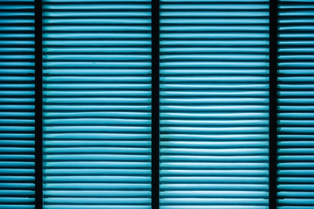 focus stacking: Air filter with light coming out of inside the blue