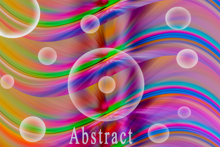 Abstract rainbow wave background Stock Photo - 23173784