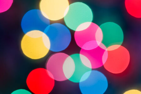 The bokeh soft light colorful background  beautiful photo