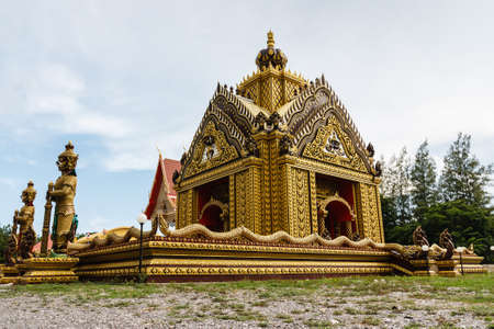 Beautiful church of the temples in Prachuap Khiri Khan Province of Thailand  photo