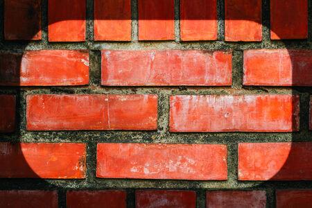 frame on wall: Sfondo di mattoni texture muro in cornice
