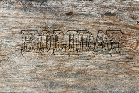 Holiday on pattern old  wooden  background photo