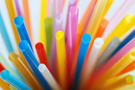 multi color: Background pattern multi Color flexible straws