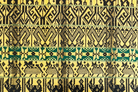 hand woven: Hand woven pattern  of northern in Thailand.