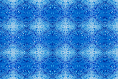 fabrica: Seamless pattern Rain Water droplets on blue fiber waterproof fabricA picture taken  and then be edited using  photoshop, Stock Photo