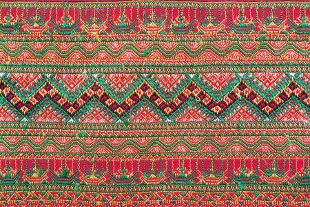 craftsmanship: Texture background ,Thai silk pattern craftsmanship beautiful