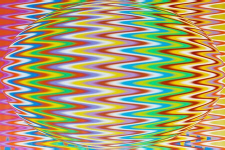 multi color: Multi Color flexible straws  circle pattern with effects wave
