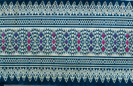 abstract background: Thai fabric texture background
