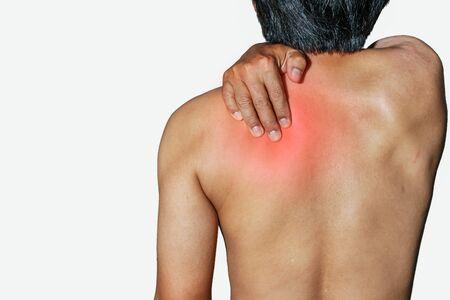 health problems: Men who have health problems, muscle pain, shoulder pain