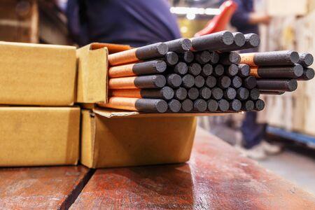 Gouging carbon electrode rods,Used in industrial metal steel