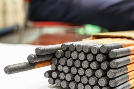 Gouging carbon electrode rods,Used in industrial metal steel